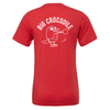 Sports Red - T Shirt - Choose Your Croc