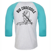 Stand Up Paddle Board Baseball Top - Big Crocodile