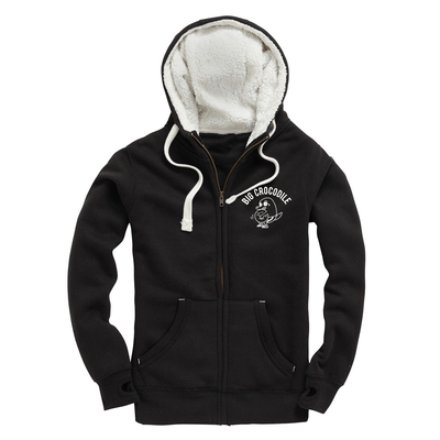 Strongman Fleece Lined Zip Up Hoodie - Big Crocodile