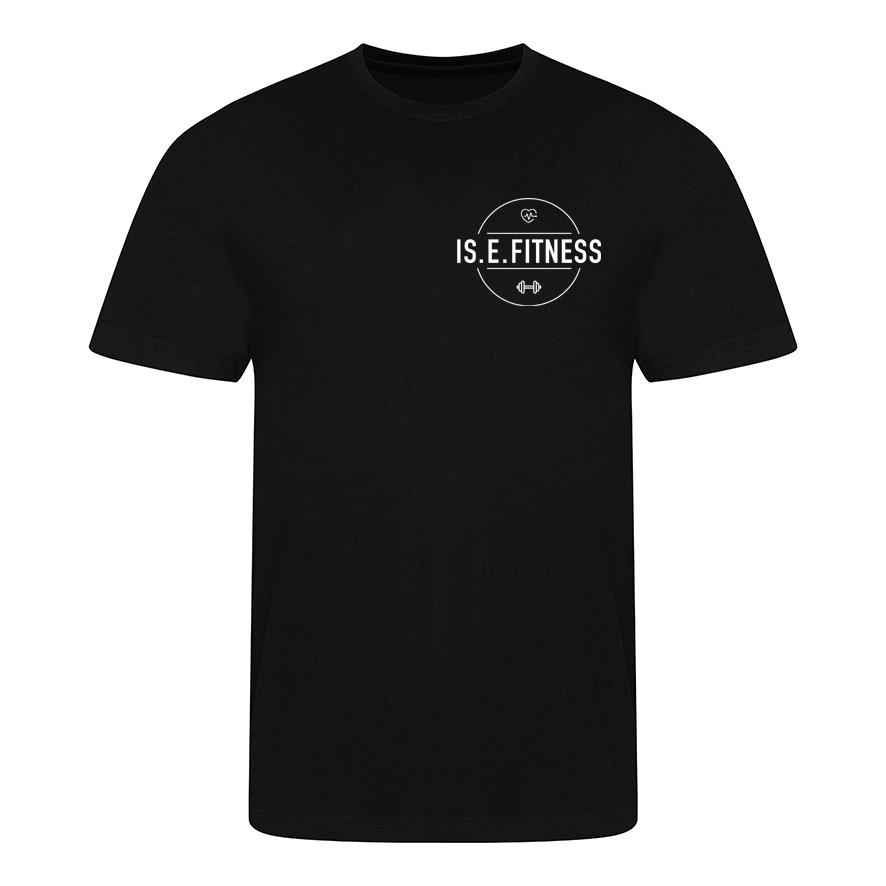 T Shirt - IS.E.FITNESS Black T Shirt
