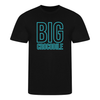 Teal Square Unisex T-shirt - Big Crocodile