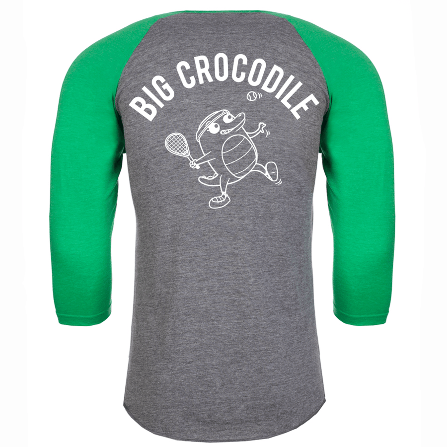 Tennis Baseball Top - Big Crocodile