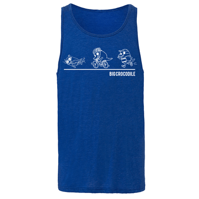 Triathlon Mens Vest - Big Crocodile