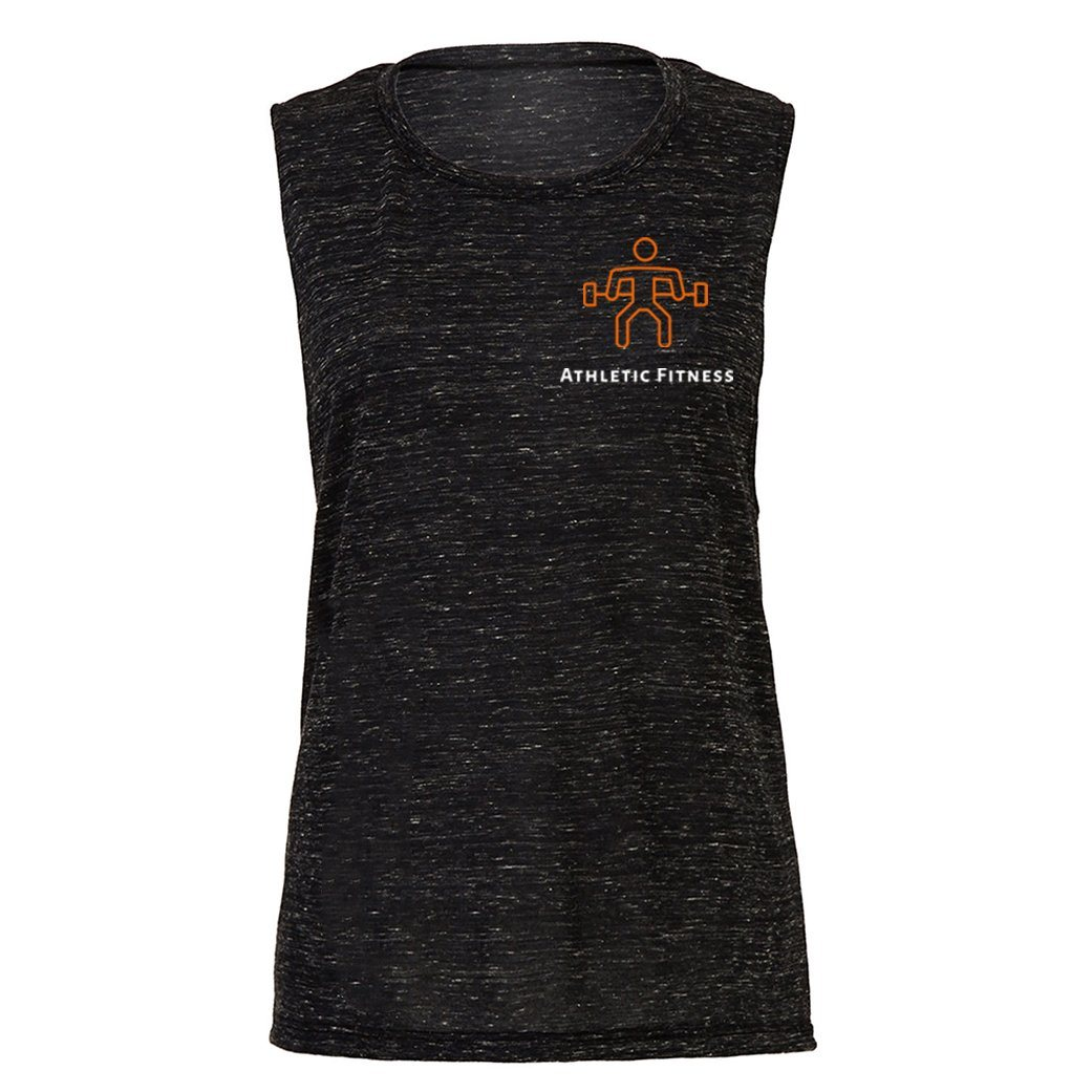 Vest - Athletic Fitness Ladies Muscle Vest