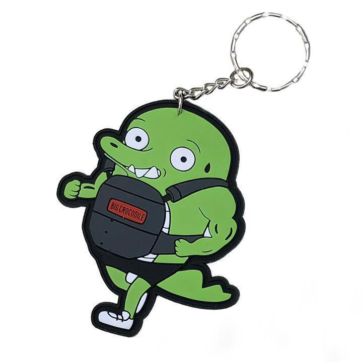 Weight-Vest Croc Keyring - Big Crocodile
