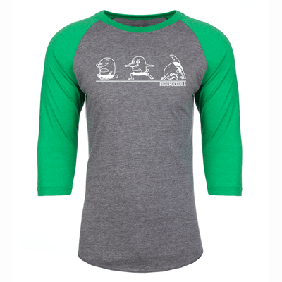 Yoga Baseball Top - Big Crocodile