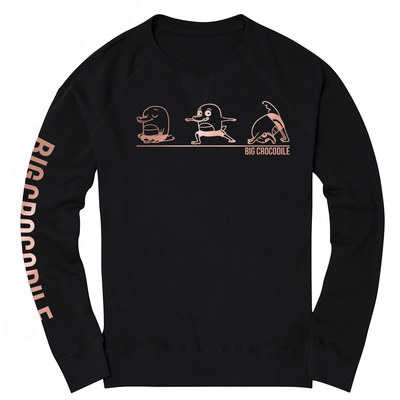 Yoga sweatshirt - Big Crocodile