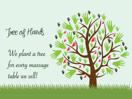 Buy a Massage Table, Plant a Tree