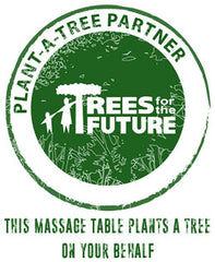 this massage table plants a tree