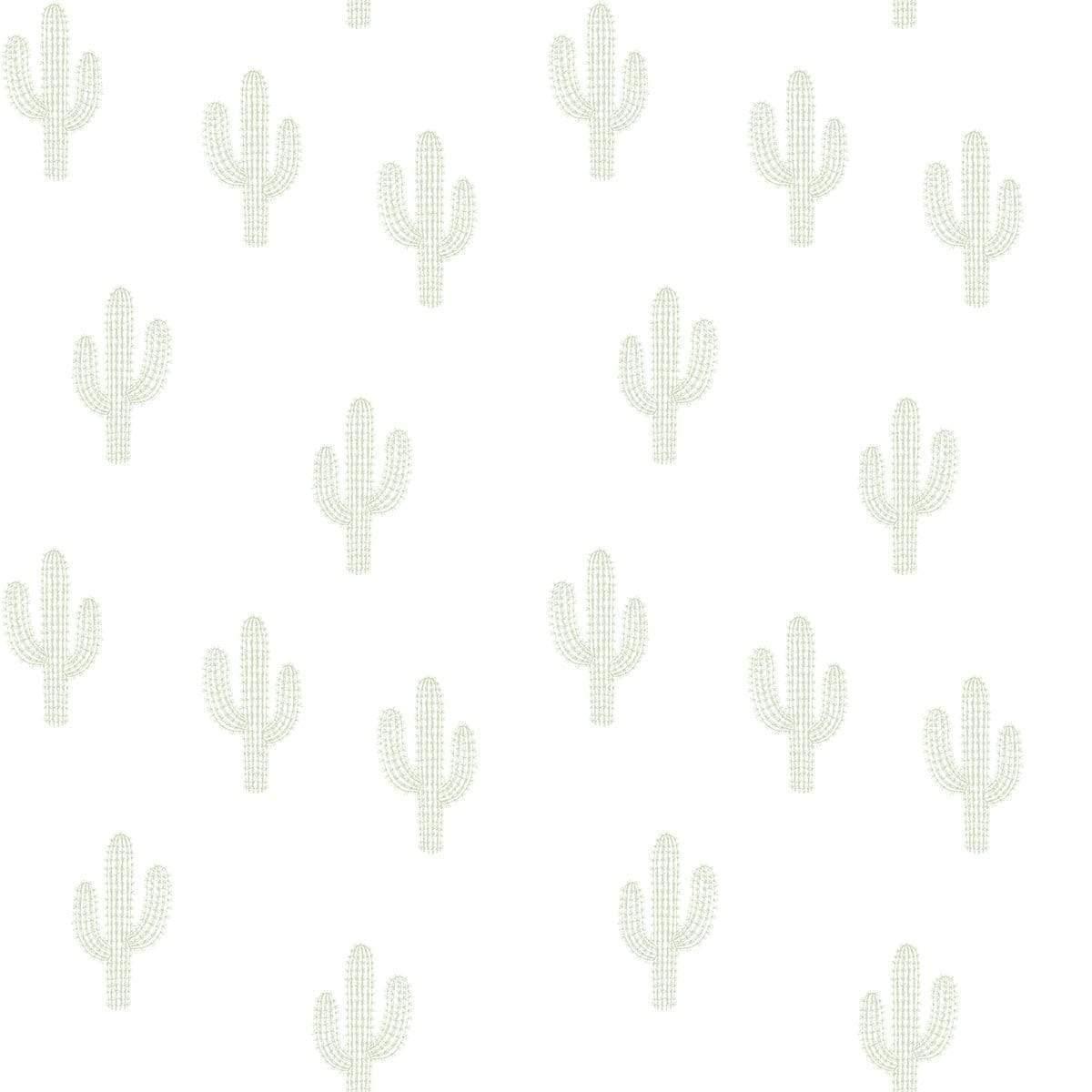 CACTUS GREENS Non woven / Easy up-tapet