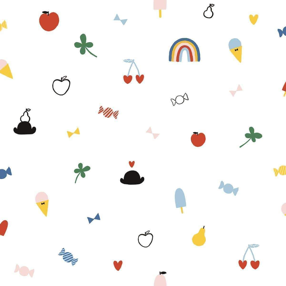 DOODLE Non woven / Easy up-tapet