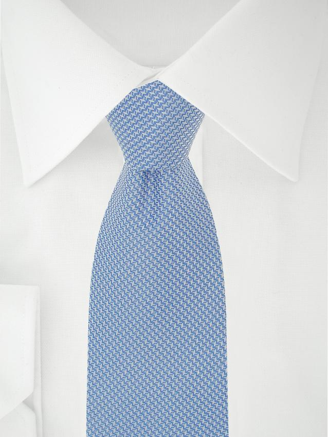 Necktie Blue / White