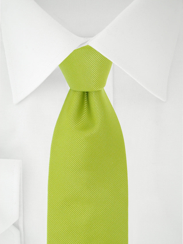 Clip-on-tie Lime