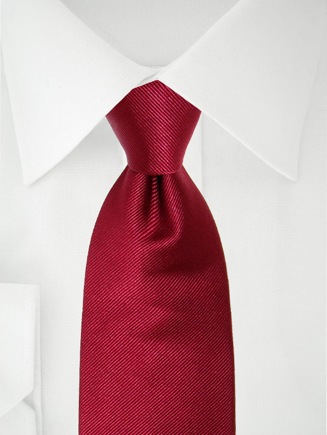 Necktie Dark Red