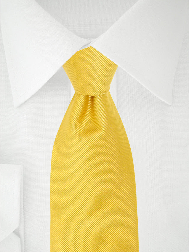 Clip-on-tie Yellow