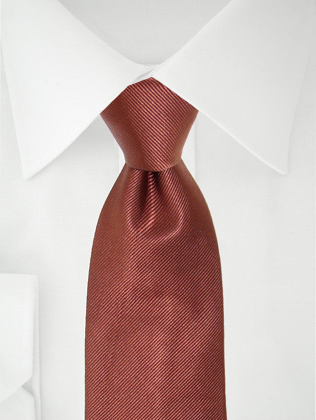 Necktie 7 Fold Brown
