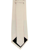 Necktie White / Pink Checkered