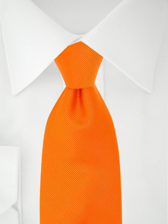 Boys Tie Orange