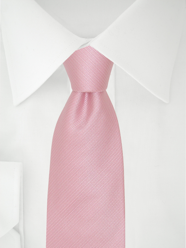 Necktie Pink Two Tone