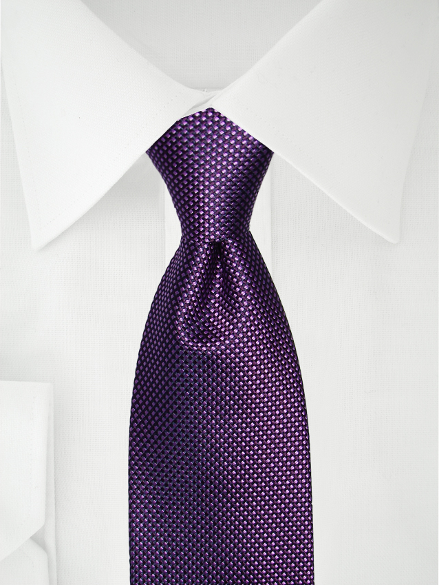 Necktie Two Tone Purple