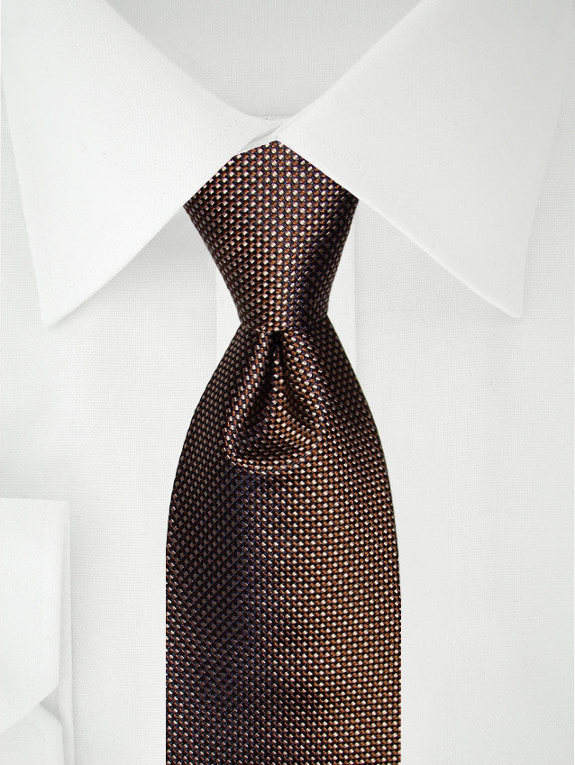 Necktie Two Tone Brown