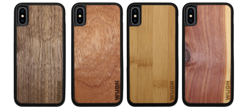 iPhone X & Xs Cases in Real Wood are Ready