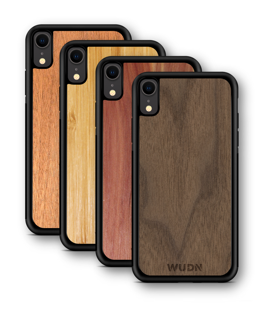 iPhone Xr, and iPhone Xs Max Cases in Real Wood are Ready!