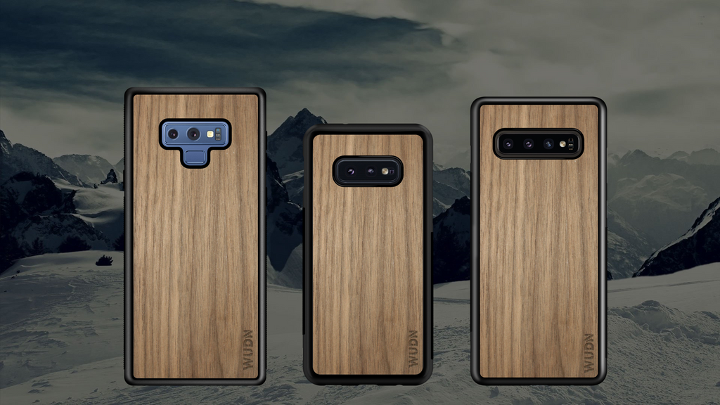 Real Wood Phone Cases for Samsung Galaxy Note 9, S10 and S10 Plus Have Arrived