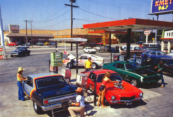 Getting Gas for $1.24 a Gallon in Los Angeles, 1980