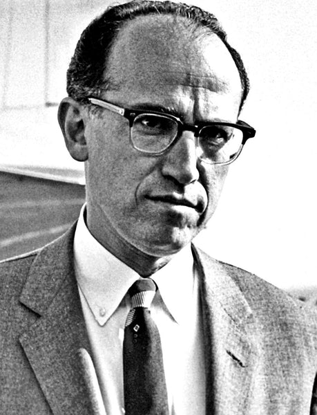 Jonas Salk invented the polio vaccine (1950s). This man is a hero.
