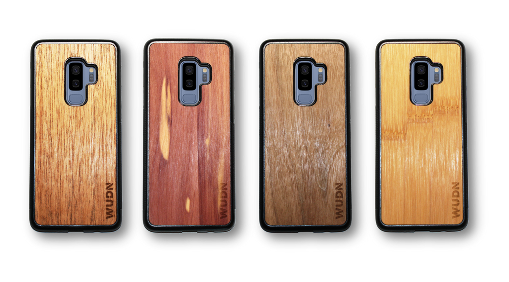 WUDN Real Wood Phone Case for the Samsung Galaxy S9+