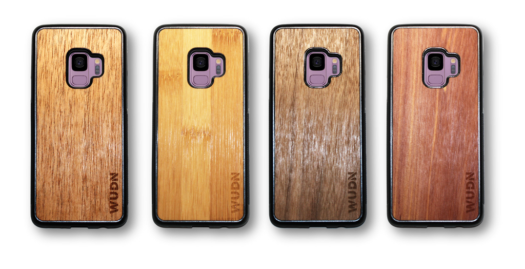 WUDN Real Wood Phone Case for the Samsung Galaxy S9