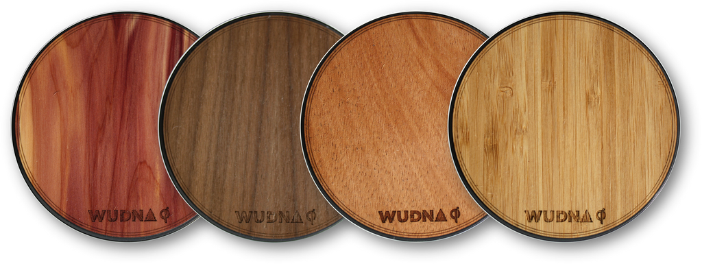 WUDN Wooden QI Wireless Fast Charger 9V 1A Wireless Charging Dock Pad Air Power Adapter Compatible with Qi standard: iPhone, Samsung Galaxy, Google Nexus, Motorola Droid, Nokia, HTC, Huawei, LG & More