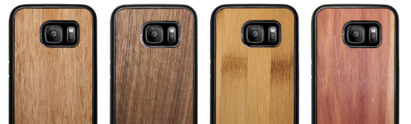 Samsung wood phone case for S7, S7 Edge, S8, S8 Plus and Note 8