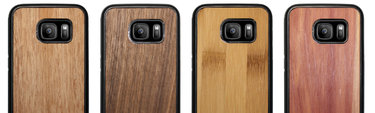 Wood Cases Now Available For Samsung Galaxy S7 S7 Edge S8 S8 Plus