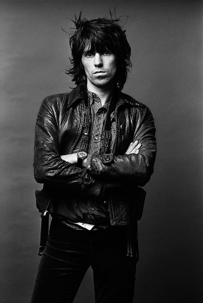 Keith Richards of The Rolling Stones, 1972