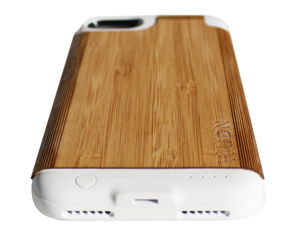 wooden bamboo iphone battery case, bamboo iphone battery case, bamboo wood iphone battery case
