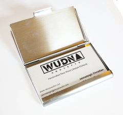 Wooden wooden business card holder, card case, Promotional Product Wholesale Laser Engraved Customized WUDN Swag