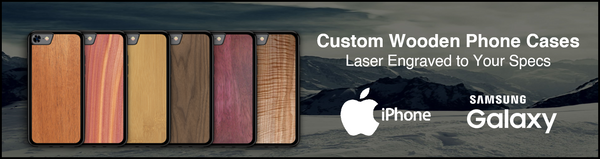 Custom wooden phone cases for iphone and samsung galaxy