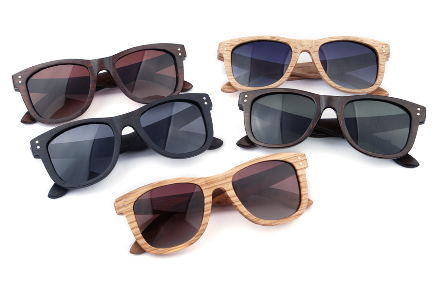 Wood Sunglasses, Wooden Sunglasses, Wood Aviators, Wood Frame Sunglasses, Wood look sunglasses