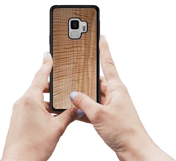 Customizable Wooden Samsung Galaxy Case Wood Laser Engraved Personalized