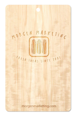 Wooden Hang Tag Promotional Product Wholesale Laser Engraved Customized WUDN Swag