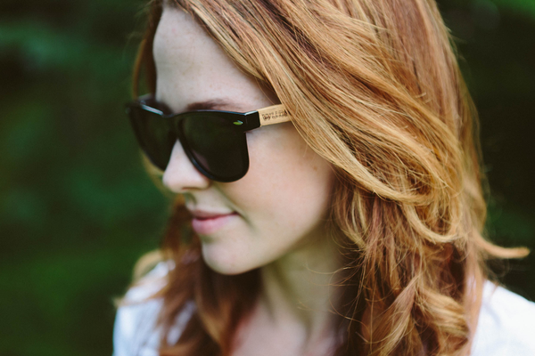 Presidents day Wooden Sunglasses - Mens & Women's Ebony Wood, Classic Wanderer Style