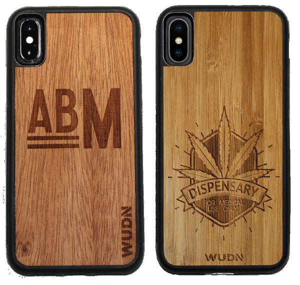 Logo engraved custom phone case, engraved phone case with logo.