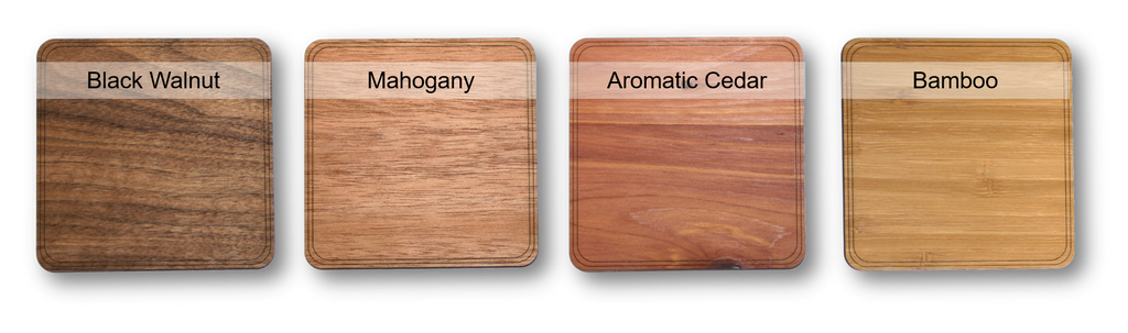 Promotional Product Wood Choices