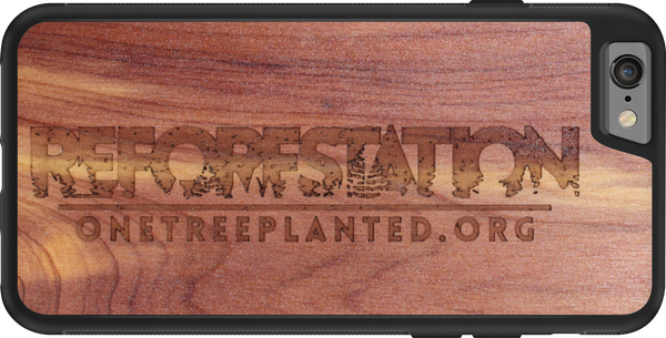 Reforestation limited edition iphone case supporting One Tree Planted