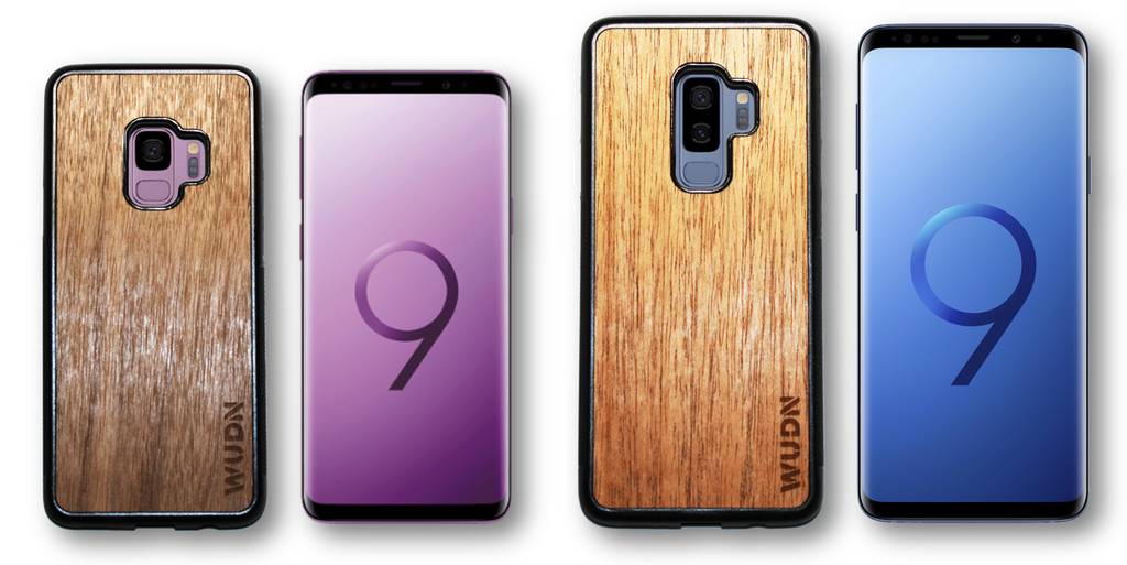 Wooden Phone Case Samsung Galaxy S9 & S9 Plus