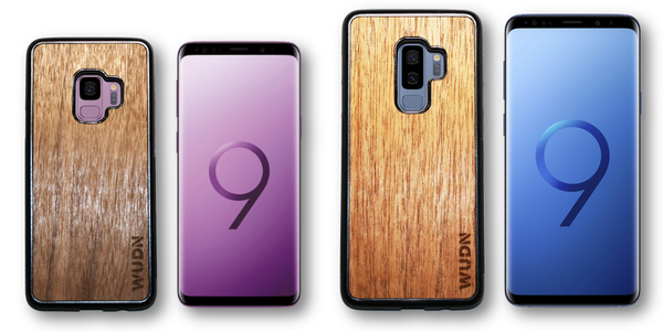 Wooden Phone Cases for the Samsung Galaxy S9 & Galaxy S9 Plus are Here