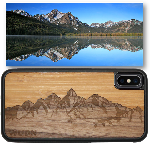 Sawtooth Mountain iphone case, sawtooth mountains samsung galaxy case