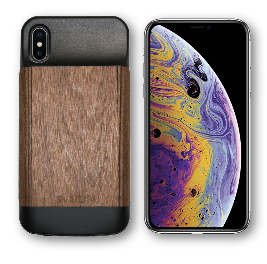 huge discount 5a509 a2952 The Wooden iPhone X & Xs Battery Case is Back - by WUDN